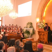 Emmanuel Church Choir, Rev. Rev. Haroutune Selimian & Rev. Mgrdich Karagoezian