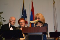 Dr. Daniel and Juliette Abdulian with Honorable Alice Altoon