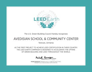 LEED Earth Certificate