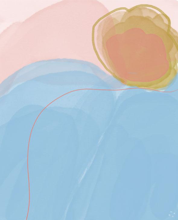 trabajo digital abstracto