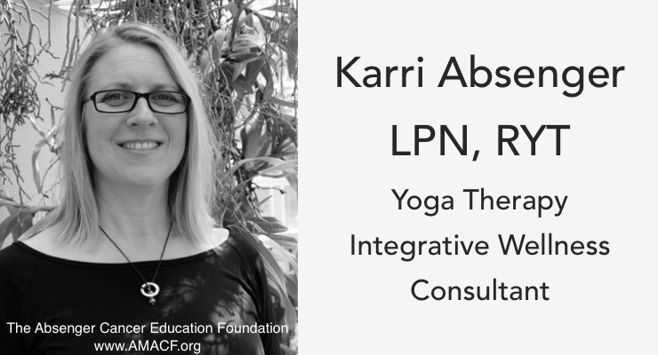 Karri Absenger Brings Yoga Therapy to ACEF
