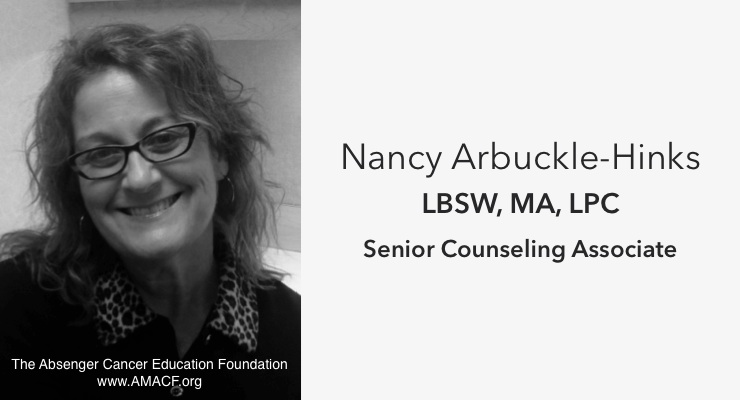 Nancy Arbuckle-Hinks: Senior Counseling Associate