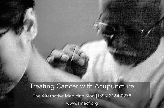 Treating Cancer with Acupuncture: A Primer