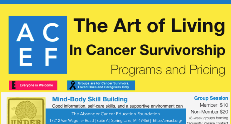 The Art of Living In Cancer Survivorship Programs and Pricing [Infographic]