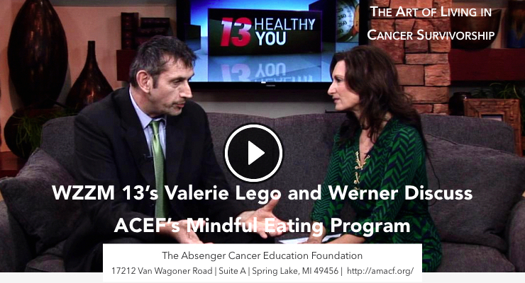 A brief mindful eating exercise with Valerie Lego from WZZM 13