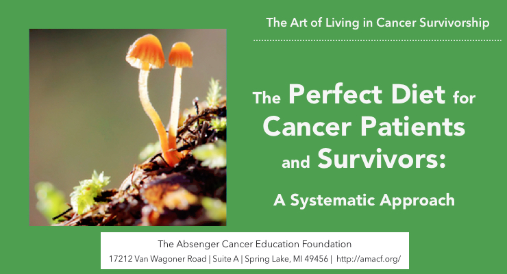 How to find the Perfect Diet for Cancer Patients and Survivors: A Systematic Approach