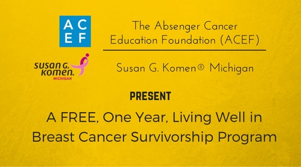 Image of Absenger-Cancer-Education-Foundation-ACEF-Susan-G-Komen-Michigan