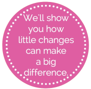 ACEF image of we'll show you how little changes can make a big difference