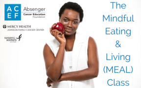 Image of African American woman for ACEF-mindful-eating-african-american-breast-cancer-survivor