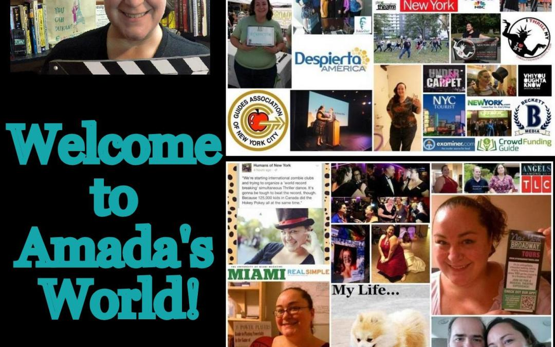 Amada's World – The Podcast!