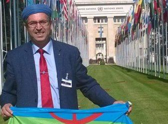 Rachid RAHA, Président de l'Assemblée Mondiale Amazighe