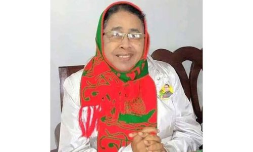 মিঠামইন উপজেলায় বিনা প্রতিদ্বন্দ্বিতায় আছিয়া আলম নির্বাচিত