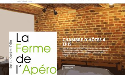 Site Web B&B/Chambre d'hôtes La Ferme de l'Apéro