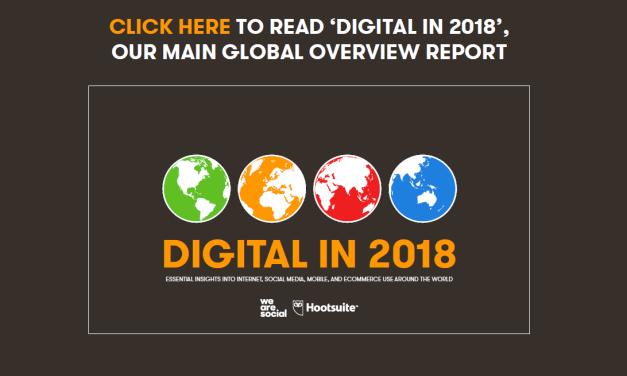 Statistiques sur l'usage des réseaux sociaux en 2018