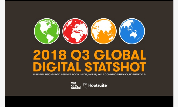 Rapport trimestriel Q3 2018 de Hootsuite et We Are Social