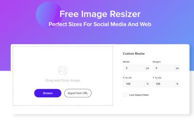 Modifier vos images en 50 tailles pour vos réseaux sociaux