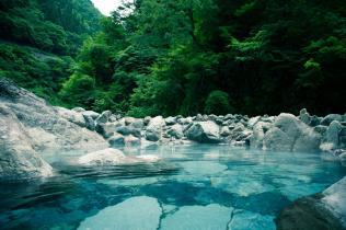 秘湯の温泉