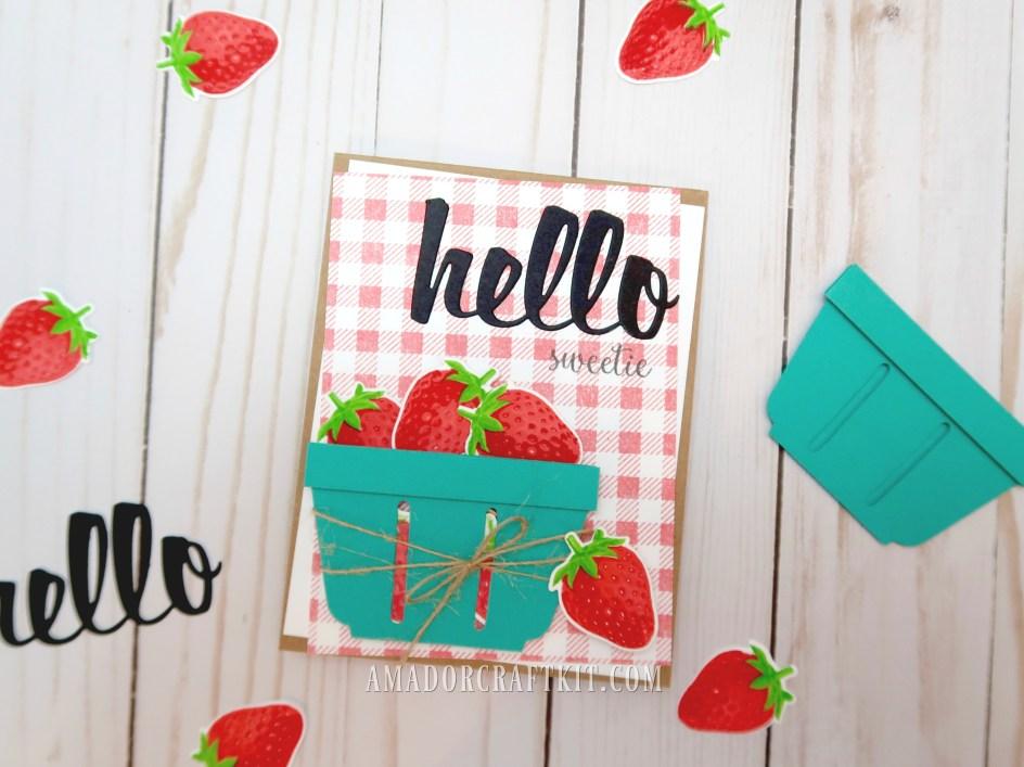 summer berry card
