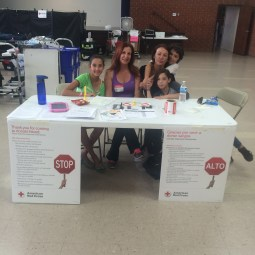 Blood Drive with American Red Cross