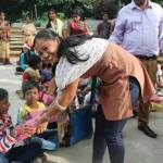 Volunteers as Care Taker for 'Rehab' Project of Street Children in India