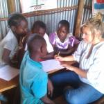 Volunteers for School & Children Project in Kenya