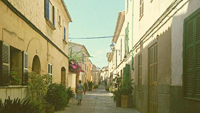 Alcudia, vicolo della città antica