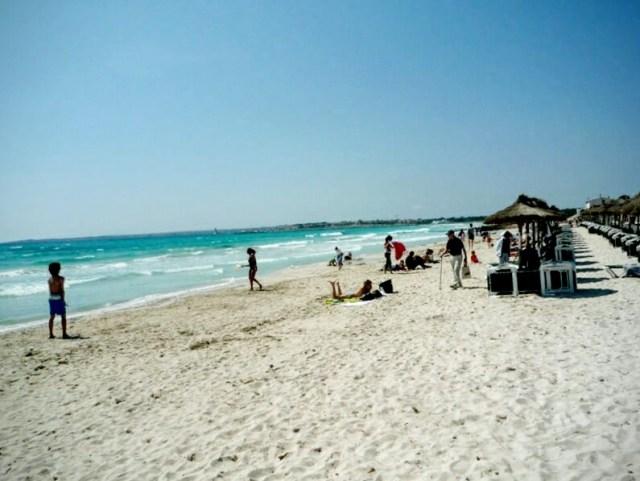 Sa Rapita, spiaggia