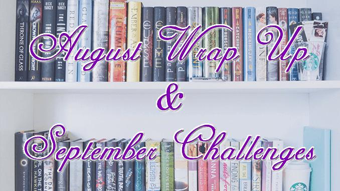 Wrap Up, август & предизвикателство за септември
