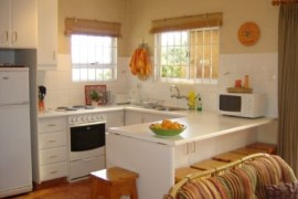 The kitchen at Clivia Hill