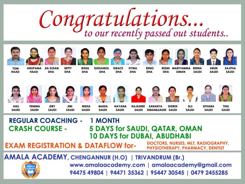 9. Congratulation A