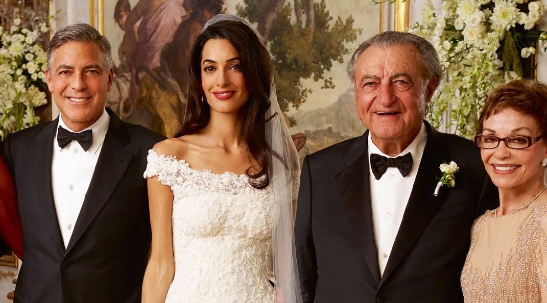 Wedding Amal Clooney Style