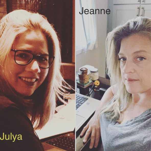 Julya and Jeanne