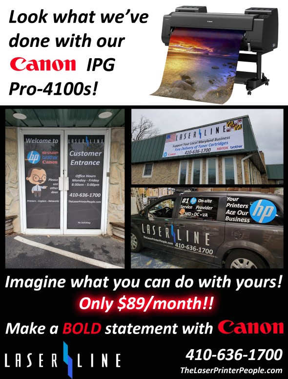 Canon IGP Pro-4100s