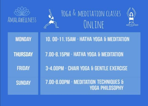 Yoga and Meditation Classes Online  Teesside / Middlesbrough / Stockton