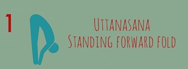 Uttanasana - Forward Fold