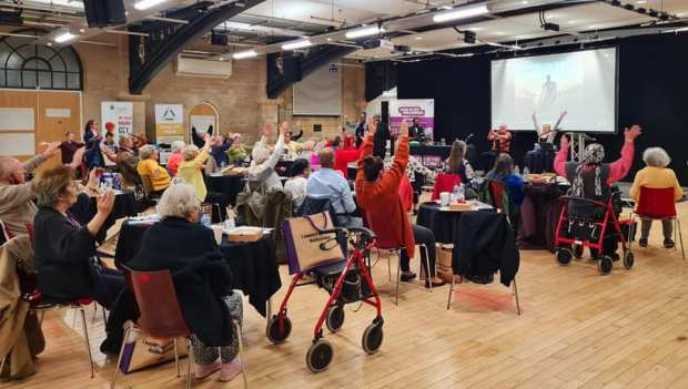 Chair exercise Chair Tai Chi Chair Yoga AMALAwellness  in Middlesbrough Stockton - At Festival of Ageing Better Middlesbrough