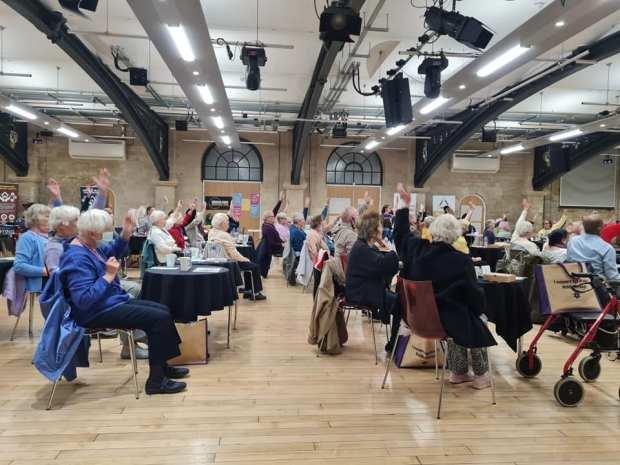 Festival of Ageing Better Chair Yoga Middlesbrough Stockton Teesside AMALAwellness