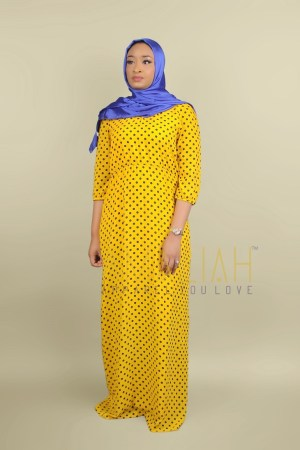 One Nation Classic – Yellow Polka dot (3)