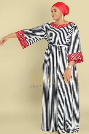 Summer Kaftan Dress (9)