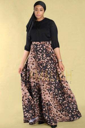 Amuna FF skirt brown (1)