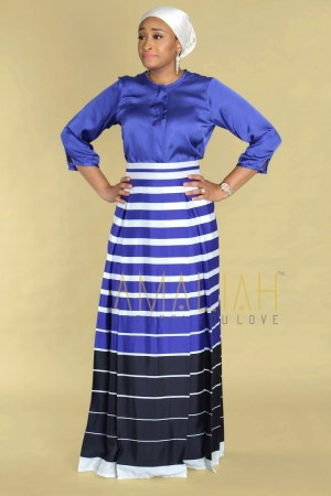 Blue Nautical theme skirt (5)