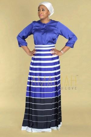 Blue Nautical theme skirt (5)