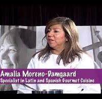 Amalia Moreno-Damgaard TV cooking episode