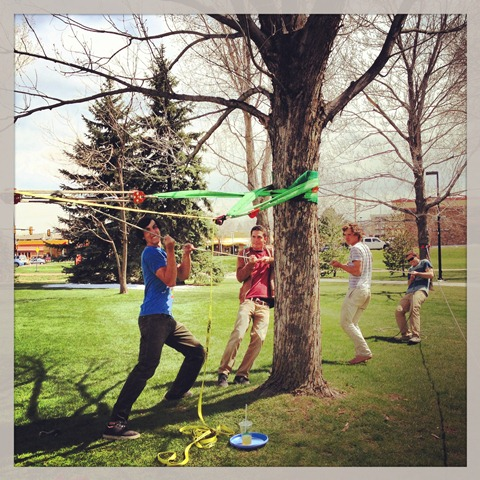 Walking the Line - Slacklining and Highlining (4/6)