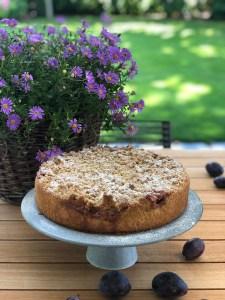 Zwetschgen-Cheesecake mit Mohn und dicken Streuseln – ein wunderbarer Herbstkuchen