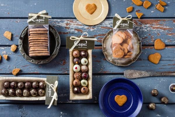CAPS! šokolādes trifeles ēdienu fotosesija Amalija Andersone foto
