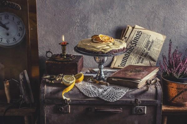 Orange cheesecake food styling ēdienu fotogrāfs Amalija Andersone
