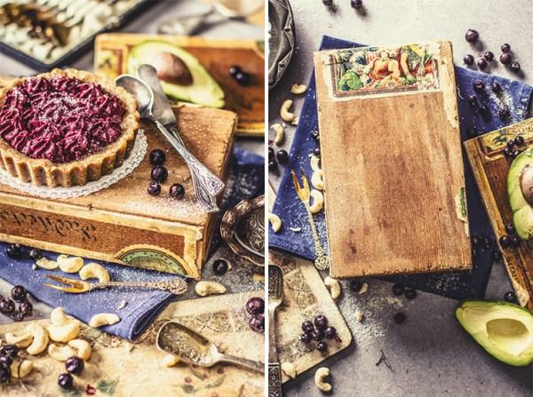 cashew nut tart food styling ēdienu fotogrāfs Amalija Andersone