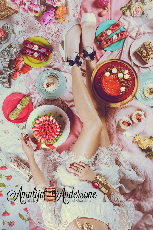 Cake House Amalija, food photo & styling Amalija Andersone, konditoreja Sala