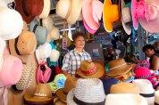"""Ini adalah toko tempat Fika menghabiskan banyak waktu untuk membeli topi, back then she asked, """"which one do you prefer for me?"""". Pertanyaan jebakan. Untungnya, kita bukan pasangan."""